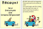 Recount Text | Structure and Graphic Organiser | Charts