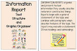 Information Report Text | Structure and Graphic Organiser | Charts