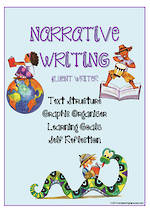 Narrative Writing | Learning Goals and Self Reflection | Charts | Fluent Writer