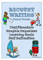 Recount Writing | Learning Goals and Self Reflection | Charts | Fluent Writer