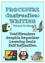 Procedural Writing | Learning Goals and Self Reflection | Charts | Fluent Writer