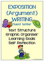 Exposition (Argument) Writing | Learning Goals and Self Reflection | Charts | Fluent Writer