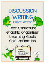 Discussion Writing | Learning Goals and Self Reflection | Charts | Fluent Writer
