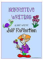 Narrative Writing | Self-Reflection and Certificate Award | Charts | Fluent Writer