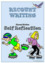 Recount Writing | Self-Reflection and Certificate Award | Charts | Fluent Writer
