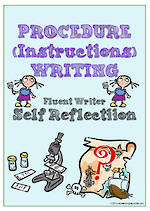 Procedural Writing | Self-Reflection and Certificate Award | Charts | Fluent Writer