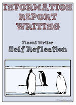 Information Report Writing | Self-Reflection and Certificate Award | Charts | Fluent Writer