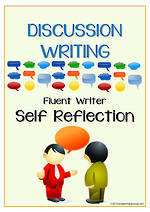 Discussion Writing | Self-Reflection and Certificate Award | Charts | Fluent Writer