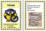 Wheels | Writing Prompts For Fluent Writers | Set 1 Cards