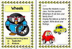 Wheels | WritingPrompts For Fluent Writers | Set 2 Cards