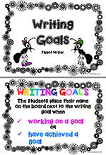 Writing Goals | Fluent Writers