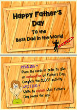 Father's Day | Explanation | Reading and Writing Prompts