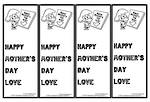 Mother's Day | Girl and Boy Image | Bookmark