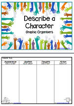 Graphic Organisers | Describing