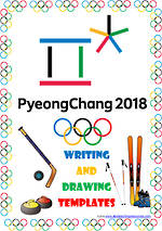 2018 Korea | Winter Olympic Games | Writing Templates