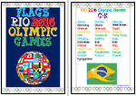 Rio 2016 Olympic  Games  | G-K | Flags | Writing Prompt