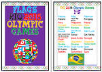 Rio 2016 Olympic  Games  | P-S | Flags | Writing Prompt