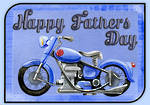 Father's Day | Motorbike Enthusiast Card | Writing Prompt