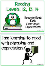 Early Reading | Levels 12,13,14 | Learning Goals | Flip Charts