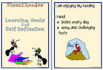 Fluent Reader | Learning Goals and Self Reflection | Card