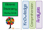 Blooms Taxonomy | Cards