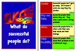 What Do Successful People Do? | Cards